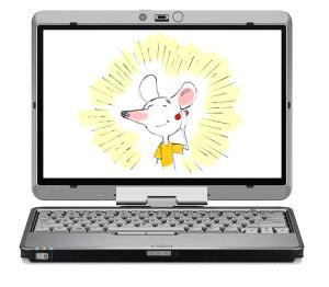 Conte sur ordinateur relaxation enfant